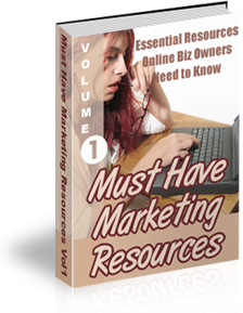 Must Have Marketing Resources Ebook